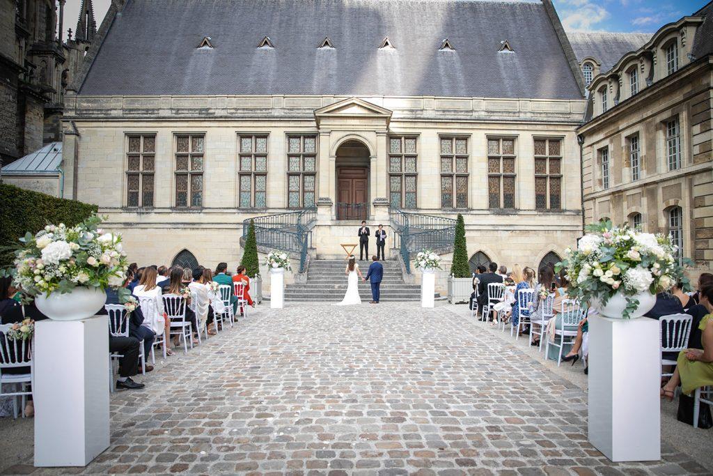Mariage de Karoline et Faad au Palais du Tau de Reims. Un superbe mariage Franco-Algéro-Brésilien.
